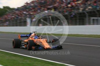 World © Octane Photographic Ltd. Formula 1 – Spanish GP - Race. McLaren MCL33 – Fernando Alonso. Circuit de Barcelona-Catalunya, Spain. Sunday 13th May 2018.