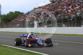 World © Octane Photographic Ltd. Formula 1 – Spanish GP - Race. Scuderia Toro Rosso STR13 – Brendon Hartley. Circuit de Barcelona-Catalunya, Spain. Sunday 13th May 2018.