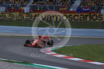 World © Octane Photographic Ltd. Formula 1 – Spanish GP - Race. Scuderia Ferrari SF71-H – Kimi Raikkonen. Circuit de Barcelona-Catalunya, Spain. Sunday 13th May 2018.