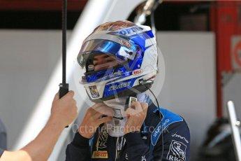 World © Octane Photographic Ltd. FIA Formula 2 (F2) – Spanish GP - Practice . DAMS - Nicholas Latifi. Circuit de Barcelona-Catalunya, Spain. Friday 11th May 2018.