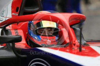 World © Octane Photographic Ltd. FIA Formula 2 (F2) – Spanish GP - Race1. Trident - Santino Ferrucci. Circuit de Barcelona-Catalunya, Spain. Saturday 12th May 2018.