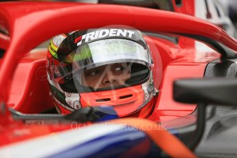 World © Octane Photographic Ltd. FIA Formula 2 (F2) – Spanish GP - Race1. Trident - Arjun Maini. Circuit de Barcelona-Catalunya, Spain. Saturday 12th May 2018.