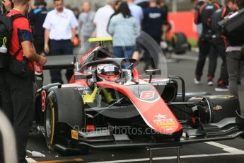 World © Octane Photographic Ltd. FIA Formula 2 (F2) – Spanish GP - Race1. ART Grand Prix - George Russell. Circuit de Barcelona-Catalunya, Spain. Saturday 12th May 2018.