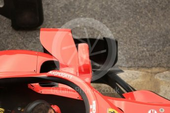 World © Octane Photographic Ltd. Formula 1 – Spanish GP - Friday Setup. Scuderia Ferrari SF71-H – Sebastian Vettel. Circuit de Barcelona-Catalunya, Spain. Friday 11th May 2018.