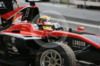 World © Octane Photographic Ltd. GP3 – Spanish GP – Race 1.ART Grand Prix - Callum Illot. Circuit de Barcelona-Catalunya, Spain. Saturday 12th May 2018.