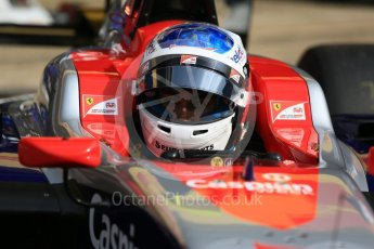 World © Octane Photographic Ltd. GP3 – Spanish GP – Race 1. Trident - Guiliano Alesi. Circuit de Barcelona-Catalunya, Spain. Saturday 12th May 2018.