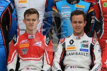 World © Octane Photographic Ltd. GP3 – Spanish GP – Class of 2018.ART Grand Prix - Callum Illot and Anthoine Hubert. Circuit de Barcelona-Catalunya, Spain. Thursday 10th May 2018.