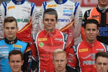 World © Octane Photographic Ltd. GP3 – Spanish GP – Class of 2018. Jenzer Motorsport - David Beckman; Arden International - Julien Falchero and  Joey Mawson. Circuit de Barcelona-Catalunya, Spain. Thursday 10th May 2018.