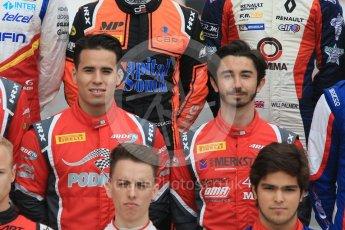 World © Octane Photographic Ltd. GP3 – Spanish GP – Class of 2018. Arden International - Joey Mawson and Gabriel Aubry. Circuit de Barcelona-Catalunya, Spain. Thursday 10th May 2018.