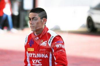 World © Octane Photographic Ltd. GP3 – Spanish GP – Practice. Trident - Guiliano Alesi. Circuit de Barcelona-Catalunya, Spain. Friday 11th May 2018.