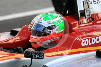 World © Octane Photographic Ltd. GP3 – Spanish GP – Practice. Campos Racing – Leodardo Pulcini. Circuit de Barcelona-Catalunya, Spain. Friday 11th May 2018.