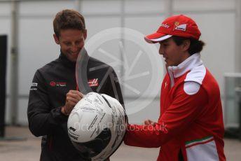 World © Octane Photographic Ltd. Formula 1 – United States GP - Paddock. Haas F1 Team VF-18 – Romain Grosjean. Circuit of the Americas (COTA), USA. Friday 19th October 2018.
