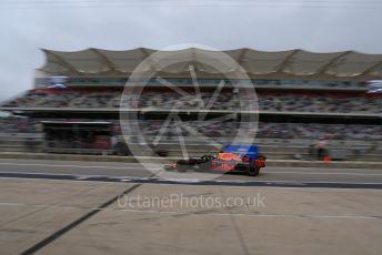 World © Octane Photographic Ltd. Formula 1 – United States GP - Practice 3. Aston Martin Red Bull Racing TAG Heuer RB14 – Daniel Ricciardo. Circuit of the Americas (COTA), USA. Saturday 20th October 2018.