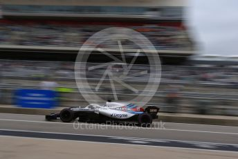 World © Octane Photographic Ltd. Formula 1 – United States GP - Practice 3. Williams Martini Racing FW41 – Lance Stroll. Circuit of the Americas (COTA), USA. Saturday 20th October 2018.
