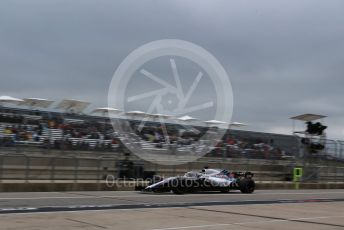 World © Octane Photographic Ltd. Formula 1 – United States GP - Practice 3. Williams Martini Racing FW41 – Lance Stroll. Circuit of the Americas (COTA), USA. Saturday 20th October 2018.