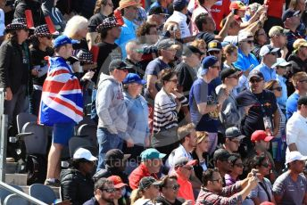 World © Octane Photographic Ltd. Formula 1 – United States GP – Race. Fans. Circuit of the Americas (COTA), USA. Sunday 21st October 2018.