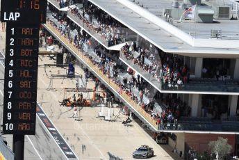 World © Octane Photographic Ltd. Formula 1 – United States GP - Race. McLaren MCL33 – Fernando Alonso retires. Circuit of the Americas (COTA), USA. Sunday 21st October 2018.
