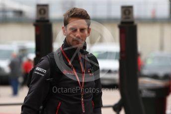 World © Octane Photographic Ltd. Formula 1 – United States GP - Paddock. Haas F1 Team VF-18 – Romain Grosjean. Circuit of the Americas (COTA), USA. Saturday 20th October 2018.