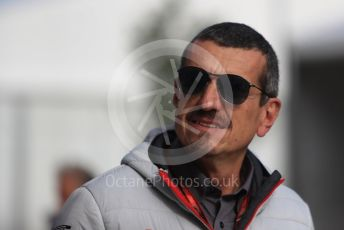 World © Octane Photographic Ltd. Formula 1 - United States GP - Paddock. Guenther Steiner  - Team Principal of Haas F1 Team. Circuit of the Americas (COTA), USA. Sunday 21st October 2018.