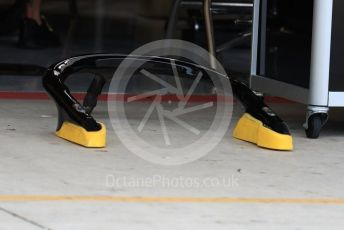 World © Octane Photographic Ltd. Formula 1 – United States GP - Pit Lane. Renault Sport F1 Team RS18 halo removed from the car. Circuit of the Americas (COTA), USA. Thursday 18th October 2018.