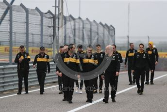 World © Octane Photographic Ltd. Formula 1 – United States GP - Track Walk. Renault Sport F1 Team RS18 – Carlos Sainz. Circuit of the Americas (COTA), USA. Thursday 18th October 2018.