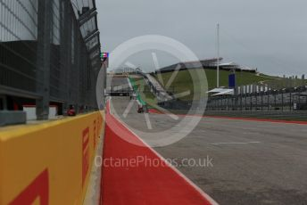 World © Octane Photographic Ltd. Formula 1 – United States GP – Pit Lane Setup. Start/ finish straight. Circuit of the Americas (COTA), USA. Wednesday 17th October 2018.
