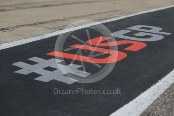 World © Octane Photographic Ltd. Formula 1 – United States GP – Pit Lane Setup. Circuit of the Americas (COTA), USA. Wednesday 17th October 2018.