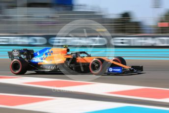 World © Octane Photographic Ltd. Formula 1 – Abu Dhabi GP - Practice 1. McLaren MCL34 – Lando Norris. Yas Marina Circuit, Abu Dhabi, UAE. Friday 29th November 2019.