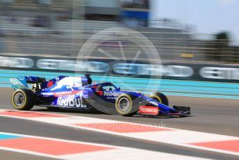 World © Octane Photographic Ltd. Formula 1 – Abu Dhabi GP - Practice 1. Scuderia Toro Rosso STR14 – Daniil Kvyat. Yas Marina Circuit, Abu Dhabi, UAE. Friday 29th November 2019.