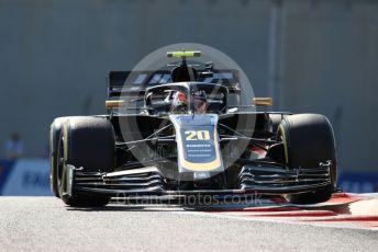 World © Octane Photographic Ltd. Formula 1 – Abu Dhabi GP - Practice 1. Haas F1 Team VF19 – Kevin Magnussen. Yas Marina Circuit, Abu Dhabi, UAE. Friday 29th November 2019.