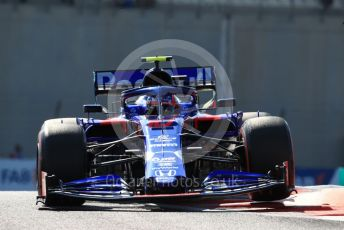 World © Octane Photographic Ltd. Formula 1 – Abu Dhabi GP - Practice 1. Scuderia Toro Rosso STR14 – Pierre Gasly. Yas Marina Circuit, Abu Dhabi, UAE. Friday 29th November 2019.