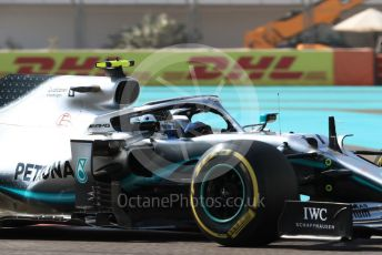 World © Octane Photographic Ltd. Formula 1 – Abu Dhabi GP - Practice 1. Mercedes AMG Petronas Motorsport AMG F1 W10 EQ Power+ - Valtteri Bottas. Yas Marina Circuit, Abu Dhabi, UAE. Friday 29th November 2019.