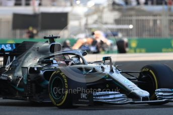 World © Octane Photographic Ltd. Formula 1 – Abu Dhabi GP - Practice 1. Mercedes AMG Petronas Motorsport AMG F1 W10 EQ Power+ - Lewis Hamilton. Yas Marina Circuit, Abu Dhabi, UAE. Friday 29th November 2019.
