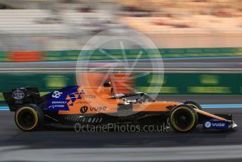World © Octane Photographic Ltd. Formula 1 – Abu Dhabi GP - Practice 2. McLaren MCL34 – Carlos Sainz. Yas Marina Circuit, Abu Dhabi, UAE. Friday 29th November 2019.