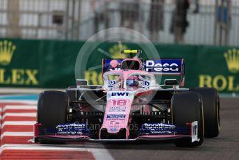 World © Octane Photographic Ltd. Formula 1 – Abu Dhabi GP - Practice 2. SportPesa Racing Point RP19 – Lance Stroll. Yas Marina Circuit, Abu Dhabi, UAE. Friday 29th November 2019.