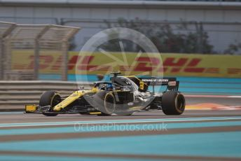 World © Octane Photographic Ltd. Formula 1 – Abu Dhabi GP - Practice 2. Renault Sport F1 Team RS19 – Daniel Ricciardo. Yas Marina Circuit, Abu Dhabi, UAE. Friday 29th November 2019.