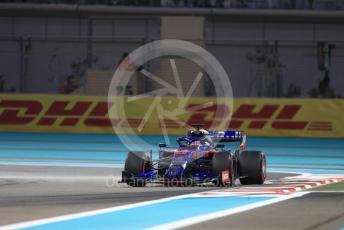 World © Octane Photographic Ltd. Formula 1 – Abu Dhabi GP - Practice 2. Scuderia Toro Rosso STR14 – Daniil Kvyat. Yas Marina Circuit, Abu Dhabi, UAE. Friday 29th November 2019.