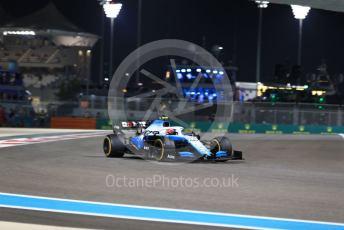 World © Octane Photographic Ltd. Formula 1 – Abu Dhabi GP - Practice 2. ROKiT Williams Racing FW42 – Robert Kubica. Yas Marina Circuit, Abu Dhabi, UAE. Friday 29th November 2019.