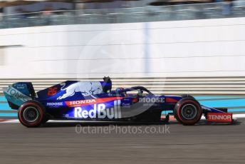 World © Octane Photographic Ltd. Formula 1 – Abu Dhabi GP - Practice 3. Scuderia Toro Rosso STR14 – Daniil Kvyat. Yas Marina Circuit, Abu Dhabi, UAE. Saturday 30th November 2019.