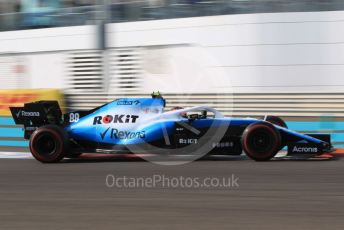 World © Octane Photographic Ltd. Formula 1 – Abu Dhabi GP - Practice 3. ROKiT Williams Racing FW42 – Robert Kubica. Yas Marina Circuit, Abu Dhabi, UAE. Saturday 30th November 2019.