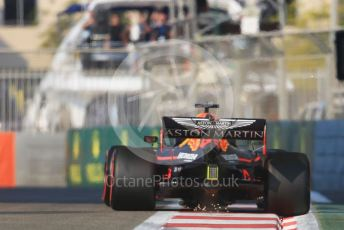 World © Octane Photographic Ltd. Formula 1 – Abu Dhabi GP - Practice 3. Aston Martin Red Bull Racing RB15 – Max Verstappen. Yas Marina Circuit, Abu Dhabi, UAE. Saturday 30th November 2019.