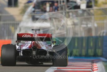 World © Octane Photographic Ltd. Formula 1 – Abu Dhabi GP - Practice 3. Alfa Romeo Racing C38 – Kimi Raikkonen. Yas Marina Circuit, Abu Dhabi, UAE. Saturday 30th November 2019.