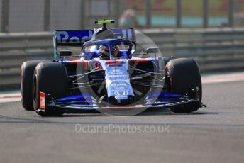 World © Octane Photographic Ltd. Formula 1 – Abu Dhabi GP - Practice 3. Scuderia Toro Rosso STR14 – Pierre Gasly. Yas Marina Circuit, Abu Dhabi, UAE. Saturday 30th November 2019.