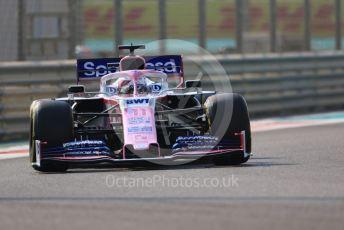 World © Octane Photographic Ltd. Formula 1 – Abu Dhabi GP - Practice 3. SportPesa Racing Point RP19 - Sergio Perez. Yas Marina Circuit, Abu Dhabi, UAE. Saturday 30th November 2019.