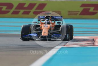 World © Octane Photographic Ltd. Formula 1 – Abu Dhabi GP - Practice 3. McLaren MCL34 – Carlos Sainz. Yas Marina Circuit, Abu Dhabi, UAE. Saturday 30th November 2019.