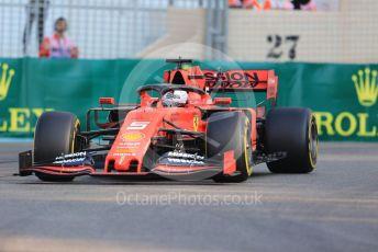 World © Octane Photographic Ltd. Formula 1 – Abu Dhabi GP - Practice 3. Scuderia Ferrari SF90 – Sebastian Vettel. Yas Marina Circuit, Abu Dhabi, UAE. Saturday 30th November 2019.