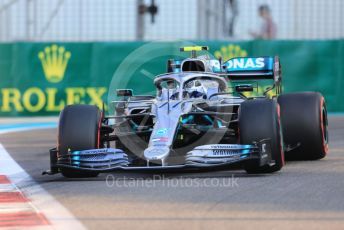 World © Octane Photographic Ltd. Formula 1 – Abu Dhabi GP - Practice 3. Mercedes AMG Petronas Motorsport AMG F1 W10 EQ Power+ - Valtteri Bottas. Yas Marina Circuit, Abu Dhabi, UAE. Saturday 30th November 2019.