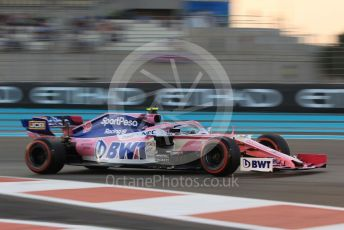 World © Octane Photographic Ltd. Formula 1 – Abu Dhabi GP - Qualifying. SportPesa Racing Point RP19 – Lance Stroll. Yas Marina Circuit, Abu Dhabi, UAE. Saturday 30th November 2019.