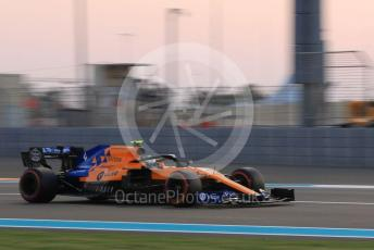 World © Octane Photographic Ltd. Formula 1 – Abu Dhabi GP - Qualifying. McLaren MCL34 – Lando Norris. Yas Marina Circuit, Abu Dhabi, UAE. Saturday 30th November 2019.