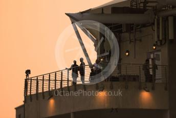 World © Octane Photographic Ltd. Formula 1 – Abu Dhabi GP - Qualifying. Fans at Sunset. Yas Marina Circuit, Abu Dhabi, UAE. Saturday 30th November 2019.